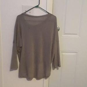 Sweaters - Grey hi low sweater